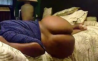 Homemade clip with me pounding my bubble butt wife's pussy