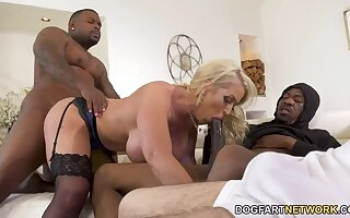 Alura's Giant Tits get Stepson out of Trouble!